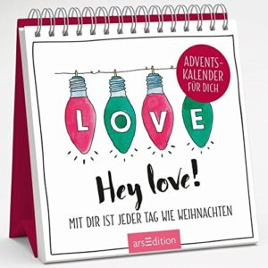 Hey love! - Adventskalender für dich
