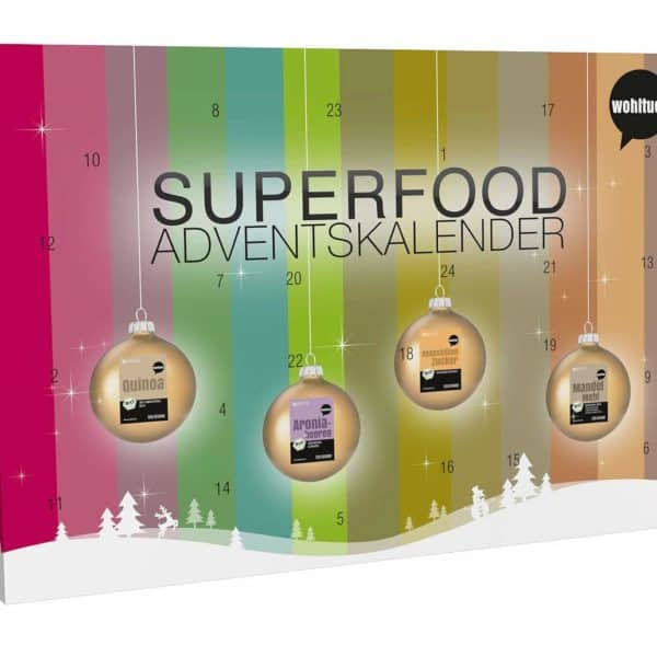 Superfood Adventskalender 2018