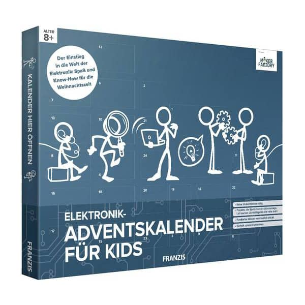 Conrad Elektronik Adventskalender für Kids 2018