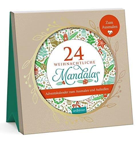 Mandala Adventskalender 2018