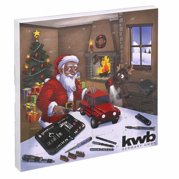 kwb Werkzeug-Adventskalender 2018