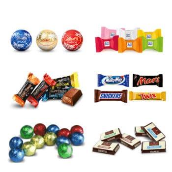 Schokoladenfüllung im Foto Adventskalender