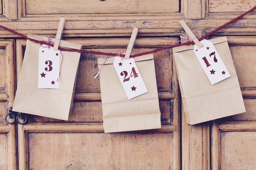 Adventskalender aus Butterbrottüten