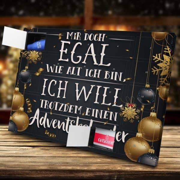 Mir doch egal Adventskalender zum Befüllen