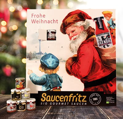 Saucenfritz Adventskalender 2018