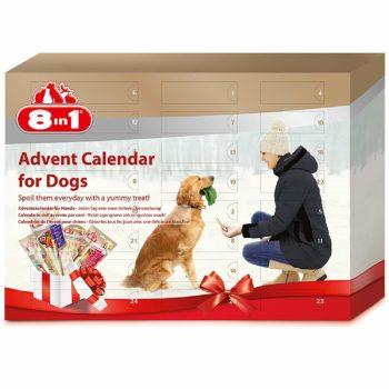 8in1 Adventskalender für Hunde 2018