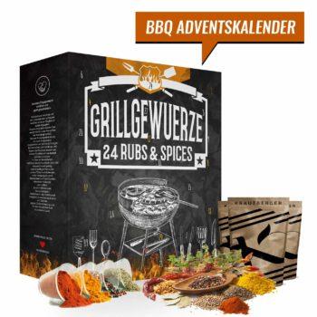 BBQ Grillgewürze Adventskalender