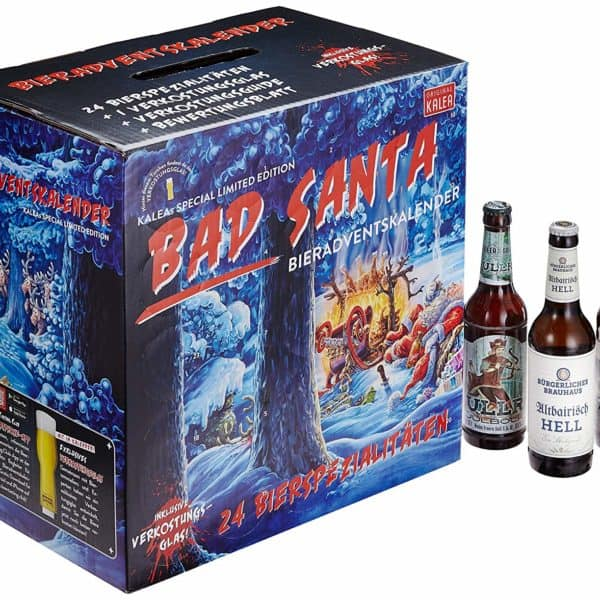 "Kalea Bier-Adventskalender ""Bad Santa"" 2018"