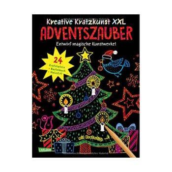 Kreative Kratzkunst XXL – Der Adventskalender