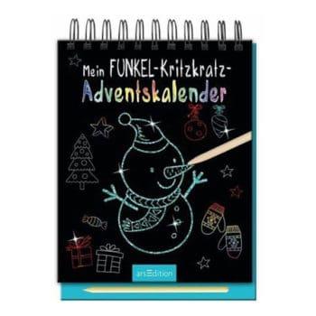 Mein Funkel-Kritzkratz-Adventskalender 2019