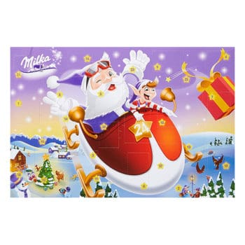 Milka Schokoladen-Adventskalender