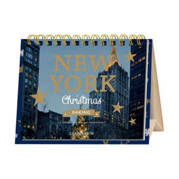 Rahmen-Tisch-Adventskalender - New York Christmas Baking