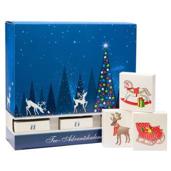 Schubladen Tee Adventskalender