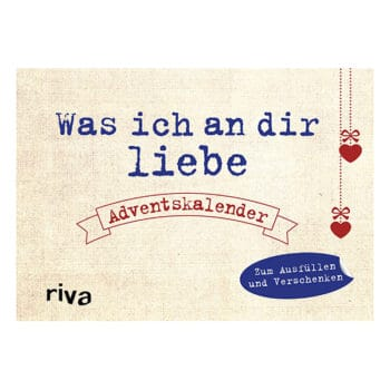 Was ich an dir liebe-Adventskalender