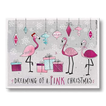 Youstar Make-Up Adventskalender Pink Flamingo X-Mas 2018