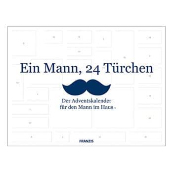 """Adventskalender """"Ein Mann, 24 Türchen"""""""