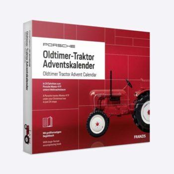 Porsche Oldtimer Traktor Adventskalender 2019