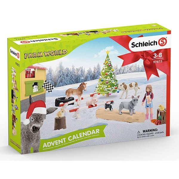 Weihnachtskalender Schleich Pferde.Schleich Adventskalender 2019 Www Adventskalender De