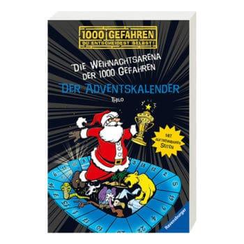 """Buch-Adventskalender """"Die Weihnachtsarena der 1000 Gefahren"""" 2019"""