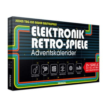 Elektronik-Retro-Spiele Adventskalender 2019