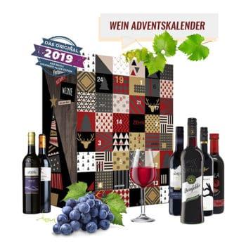 Boxiland Rotwein-Adventskalender