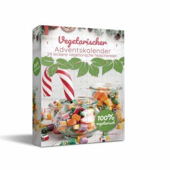 Vegetarischer Süßigkeiten-Adventskalender