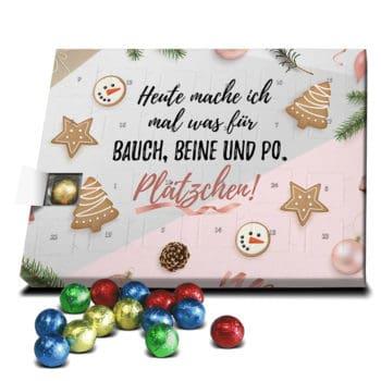 Bauch-Beine-Po Sprüche-Adventskalender