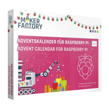 Makerfactory Rapsberry Pi Adventskalender 2019