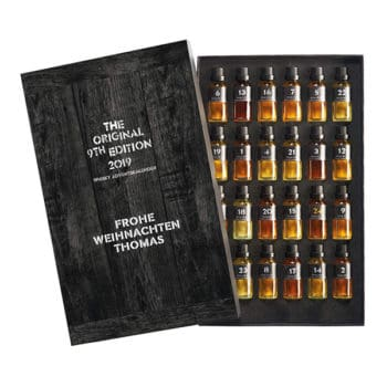 Whiskyworld Whisky Adventskalender mit Gravur