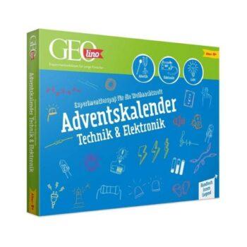 GEOlino Adventskalender 2020 – Technik & Elektronik