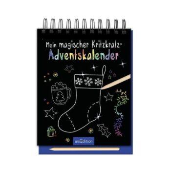 Mein magischer Kritzkratz-Adventskalender 2020