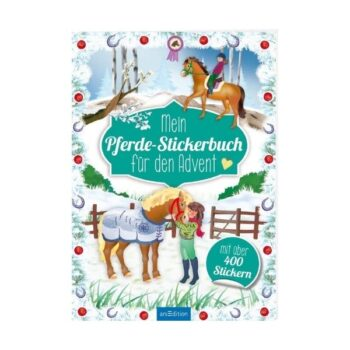 Pferde-Stickerbuch Adventskalender 2020