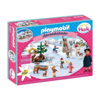 Playmobil Adventskalender Heidis Winterwelt 2020