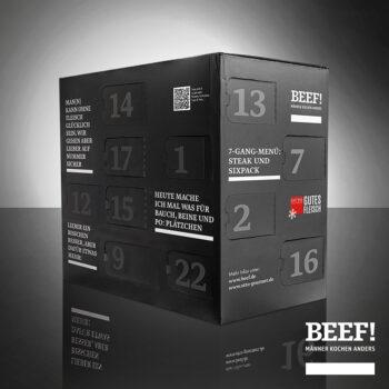 BEEF! Adventskalender 2020