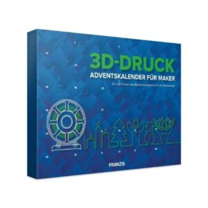 FRANZIS 3D Drucker Adventskalender 2020