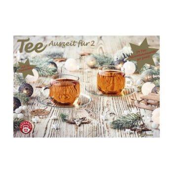 Teekanne Tee Adventskalender für Zwei 2021