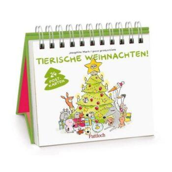 Tierische Weihnachten! – Postkarten Adventskalender 2020