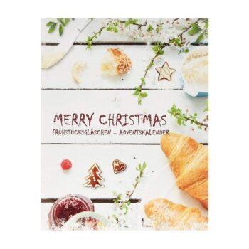 Frühstücksgläschen Adventskalender