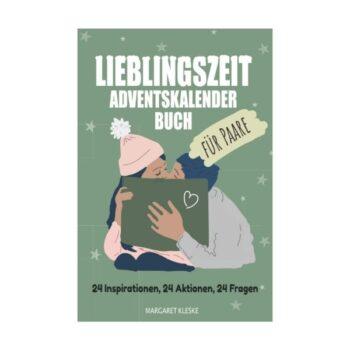 """""""Lieblingszeit"""" Adventskalender-Buch für Paare"""