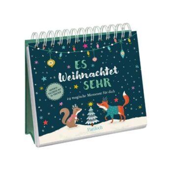 """""""Es weihnachtet sehr"""" Postkarten-Adventskalender"""