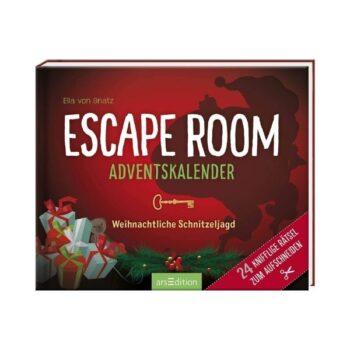 Escape Room Adventskalender 2021: Weihnachtliche Schnitzeljagd