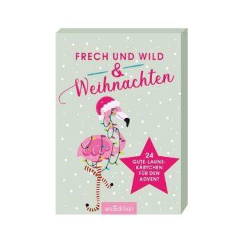 Frech & frei und Weihnachten - Postkarten-Adventskalender