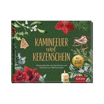 """Bücher Adventskalender """"Kaminfeuer und Kerzenschein"""""""