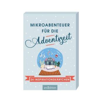 Mikroabenteuer für die Adventszeit: 24 Inspirationskärtchen