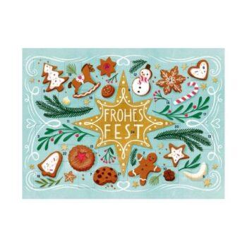 Postkarten Adventskalender zum Verschicken 2021