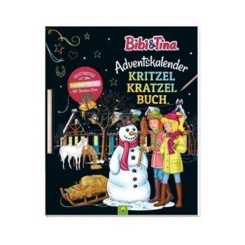 Bibi & Tina Adventskalender Kritzel-Kratzel-Buch
