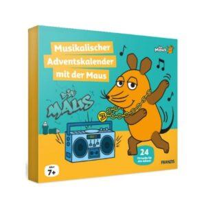 FRANZIS Musik-Adventskalender mit der Maus