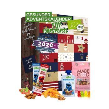 Gesunde Snacks Adventskalender für Kinder