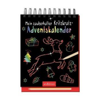 Mein zauberhafter Kritzkratz-Adventskalender 2021