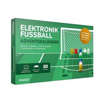 FRANZIS Elektronik Fußball Adventskalender 2021